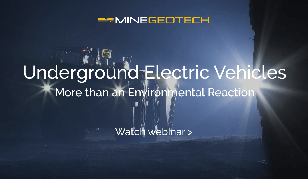 METS Tech Talk Webinar: Underground Electric Vehicles – More than an Environmental Reaction