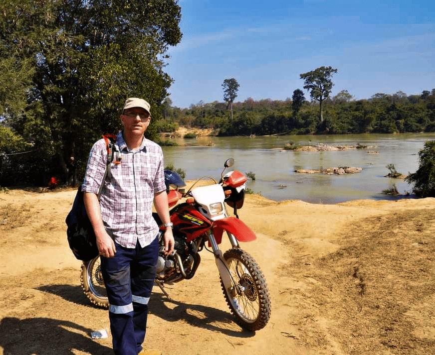 Alex Biggs in Cambodia