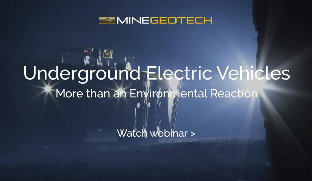 METS Tech Talk Webinar: Underground Electric Vehicles – More than an Environmental Reaction