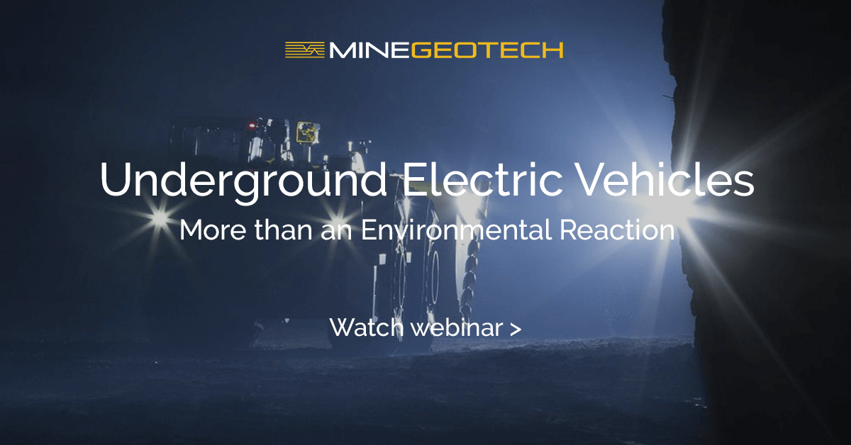 METS Tech Talk Webinar Underground Electric Vehicles – More than an Environmental Reaction - MGT Webinar Presentation