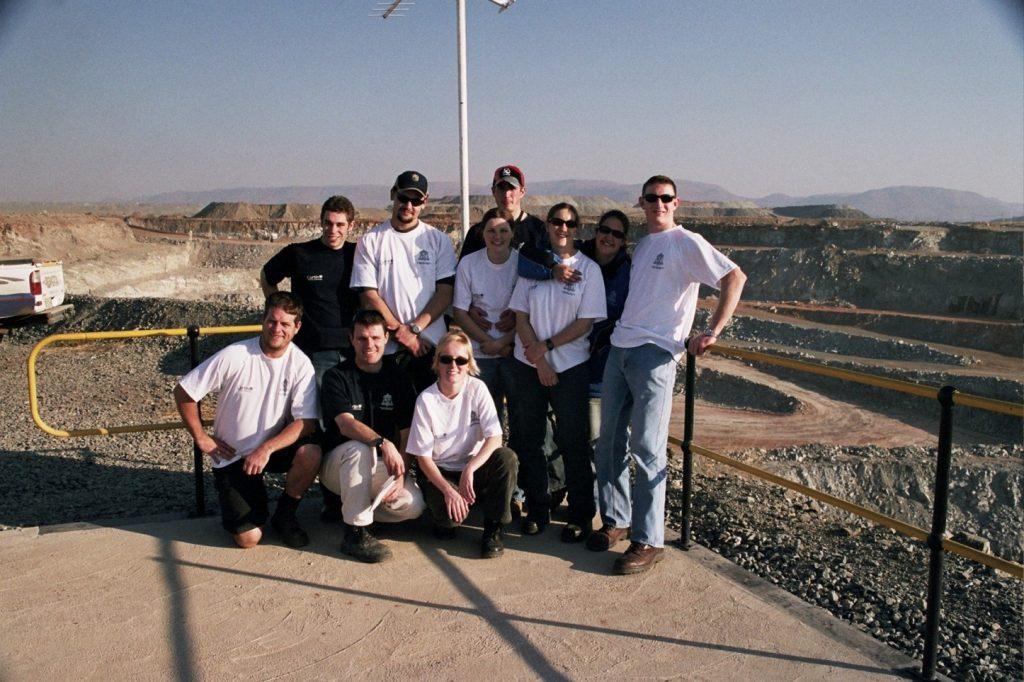 South Africa WASM Fieldtrip 2005, 8 Mines in 12 Days