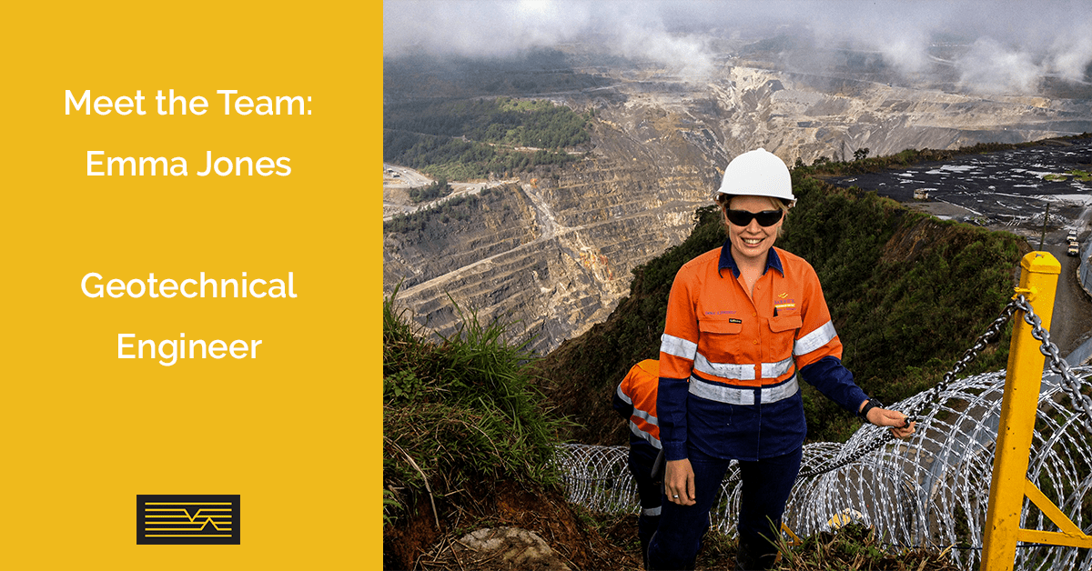 Meet the MineGeoTech Team - Emma Jones - Geotechnical Engineer