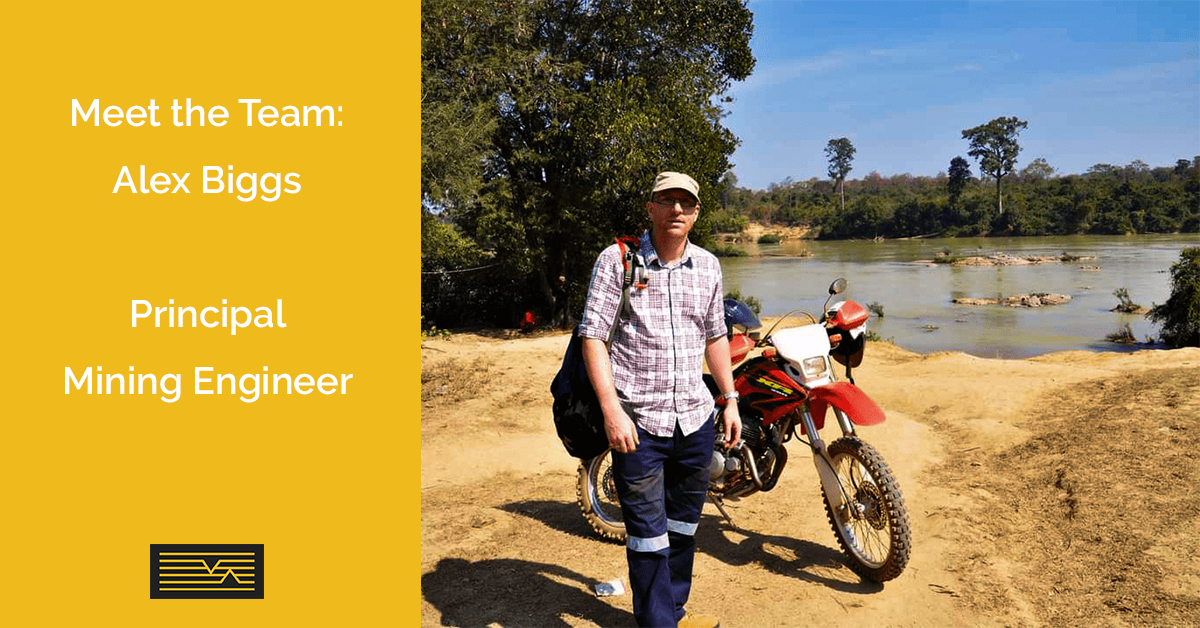 Meet the MineGeoTech Team - Alex Biggs