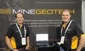 MineGeoTech - AusIMM Underground Operators Conference 2021 - Mining Underground Services - Peter Evans and John Player